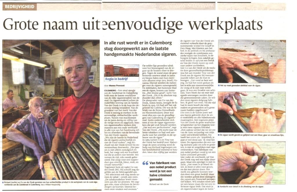 De Gelderlander 13-8-2013