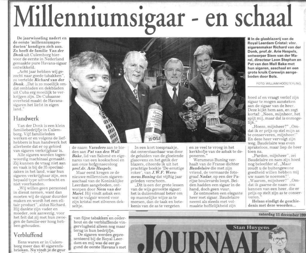 Telegraaf 11-12-1999