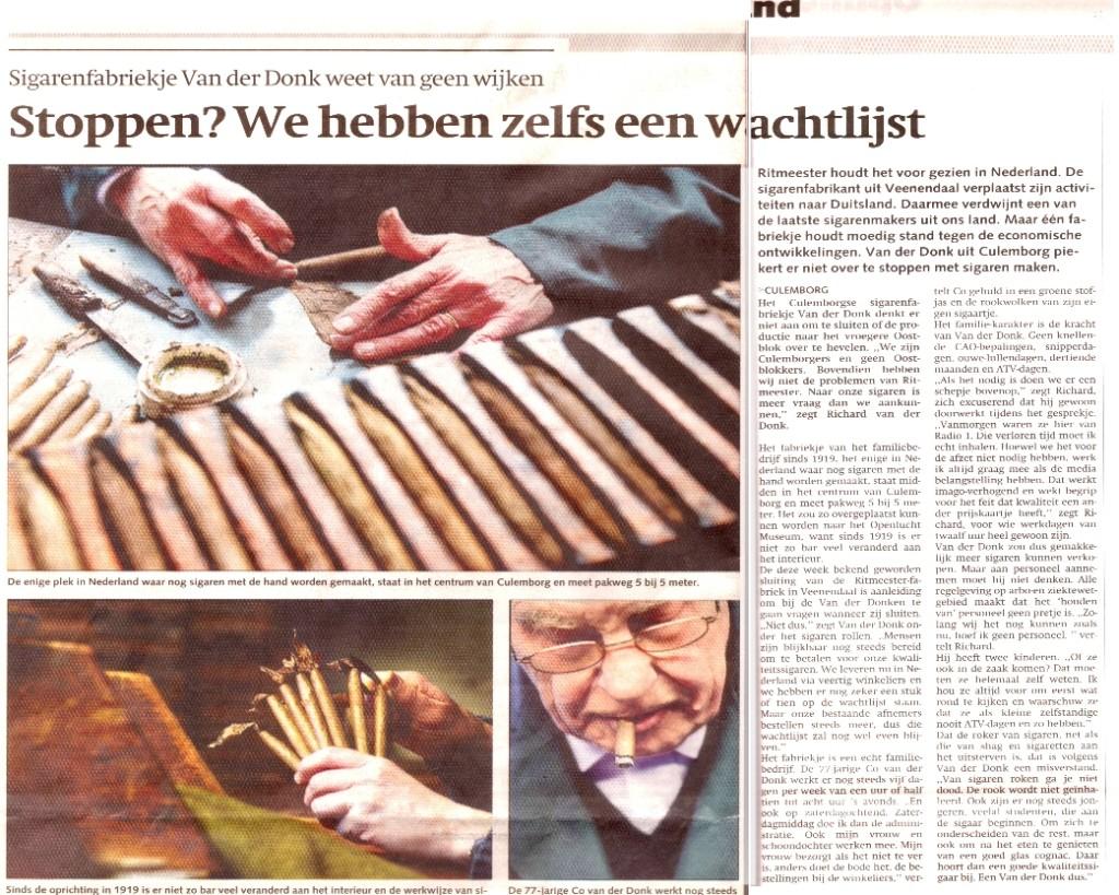 Utrechts Nieuwsblad 20-1-2005